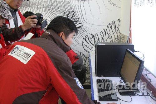 中科院珠峰站惠普环境科普实验室正式落户珠峰