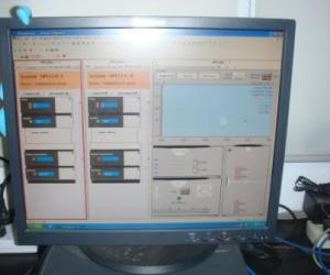 三台HPLC的控制界面