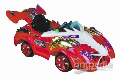 智乐堡的儿童玩具车