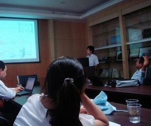 戴安上海应用中心叶明立在发言