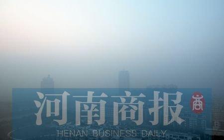 郑州周边焚烧秸秆致轻度污染 雾霾笼罩航班延误(2)