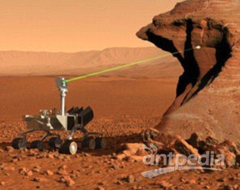 ChemCam利用激光分析火星表面的物质,最大工作距离可达到23英尺