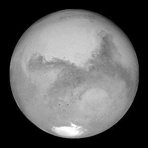 神秘的火星
