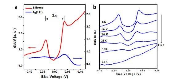 硅烯有着与石墨烯相似的电子结构和电学性质