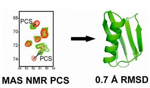 蛋白质三维结构解析固体核磁共振方法获进展