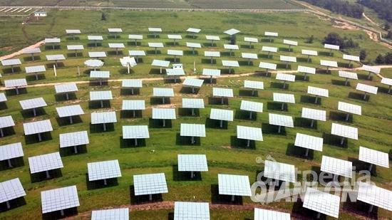 亚洲最大塔式太阳能热发电电站在京具并网条件