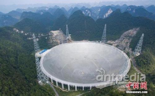 中国侨网图为2016年9月25日,世界最大单口径射电望远镜——500米口径