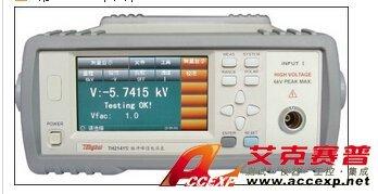 同惠 TH2141 脉冲峰值电压表 图片