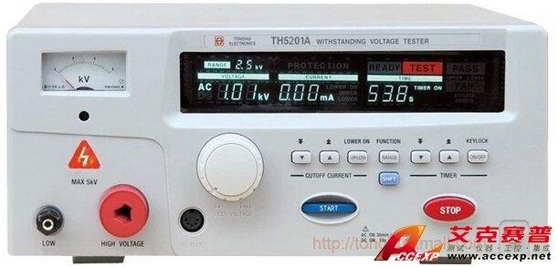 同惠 TH5201B 交流耐压测试仪 图片