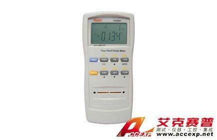 同惠TH2661型手持式四探针测试仪
