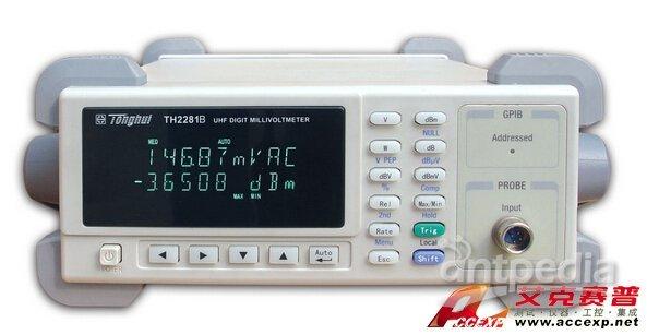 同惠 TH2281B 交流毫伏表 图片