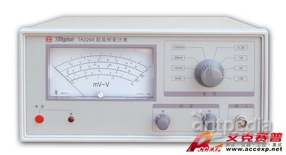 同惠 TH2268 超高频毫伏表 图片
