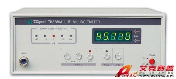 同惠 TH2280A型 超高频毫伏表 图片