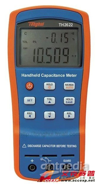 同惠TH2622手持式电容表