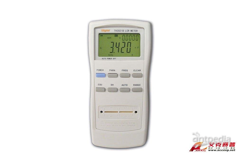 同惠TH2821B手持式LCR数字电桥