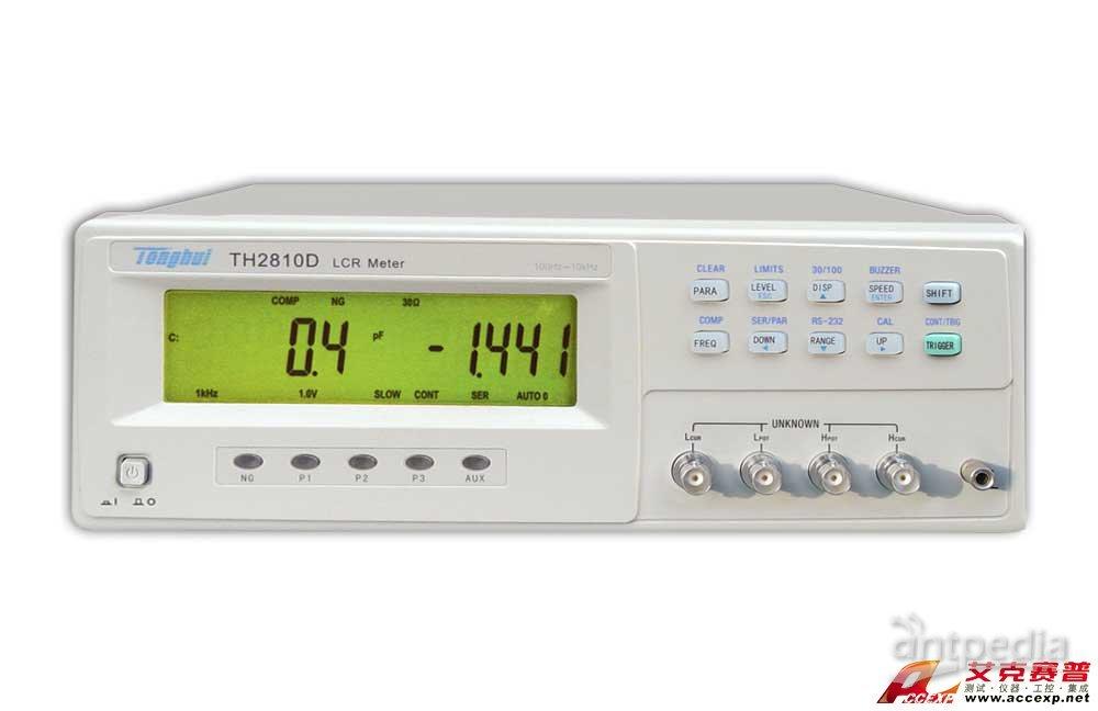 同惠TH2810D LCR数字电桥