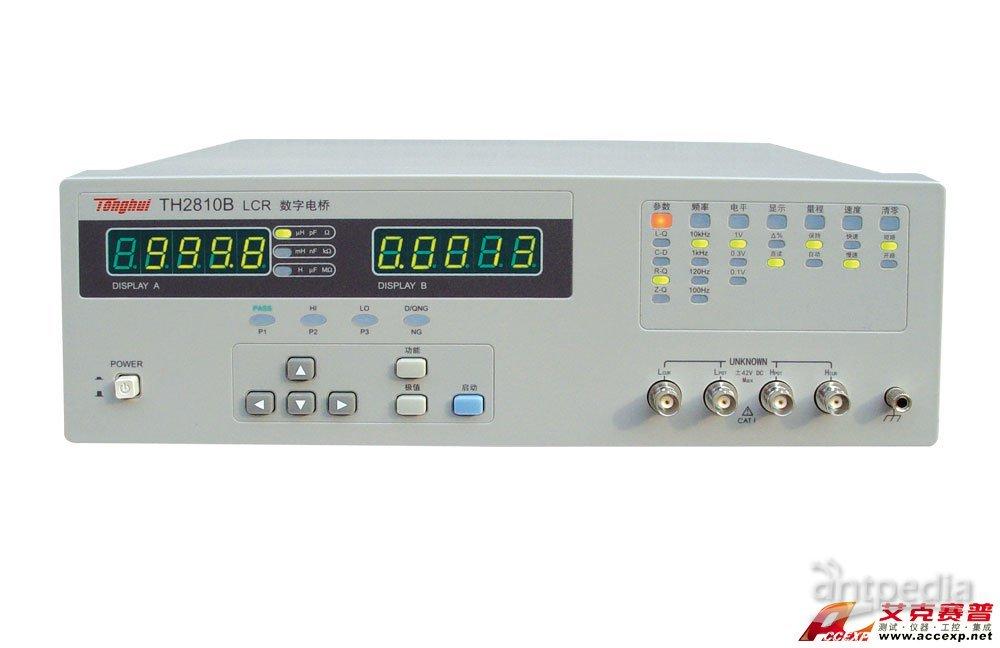 同惠TH2810B LCR数字电桥