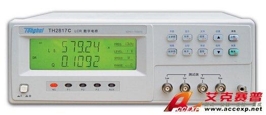 同惠 TH2817C LCR数字电桥 图片