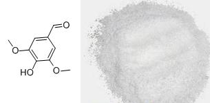 丁香醛及其分子结构式