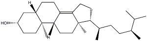 菜油甾醇分子结构式