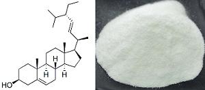 豆甾醇及其分子结构式