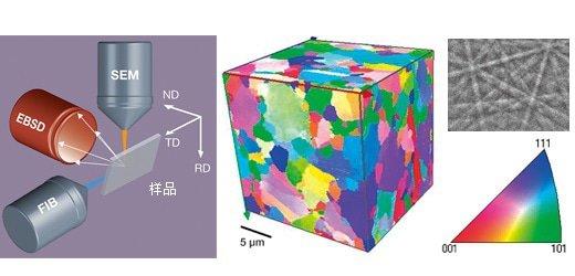 3D-EBSD图像