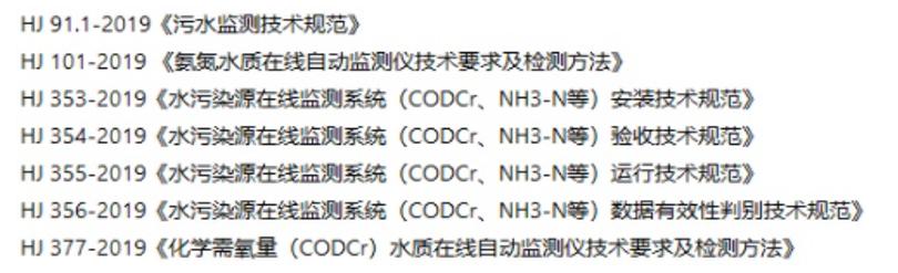 国家近期发布的一系列污染在线监测新标准_规范.png
