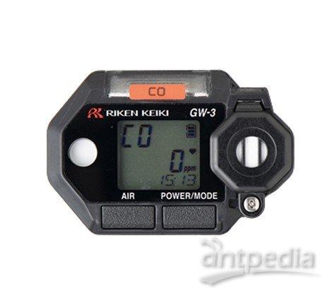 日本理研GW-3型佩戴式气体检测仪/手表式携带/四合一复合/便携袖珍示例图2