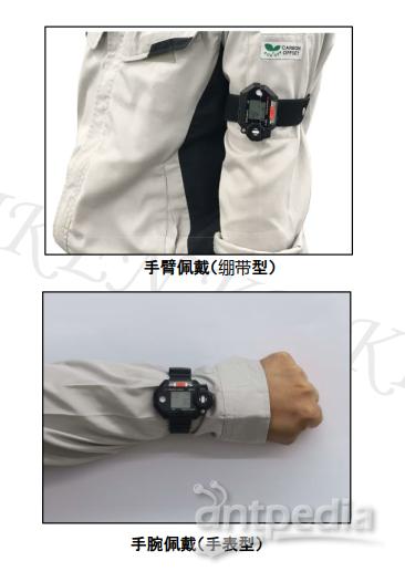日本理研GW-3型佩戴式气体检测仪/手表式携带/四合一复合/便携袖珍示例图3